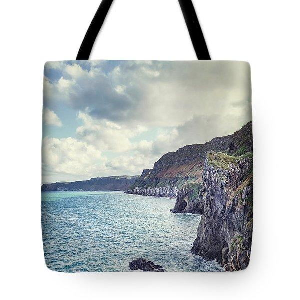 Edge Of The Sea Tote Bag
