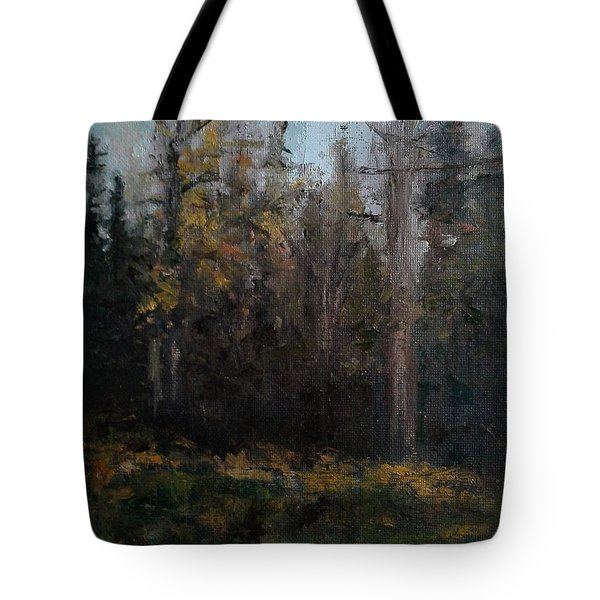 Edge Of The Woods #1 Tote Bag by Brian Kardell