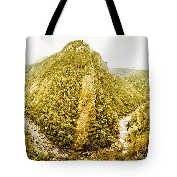 Edge Of Wilderness Tote Bag