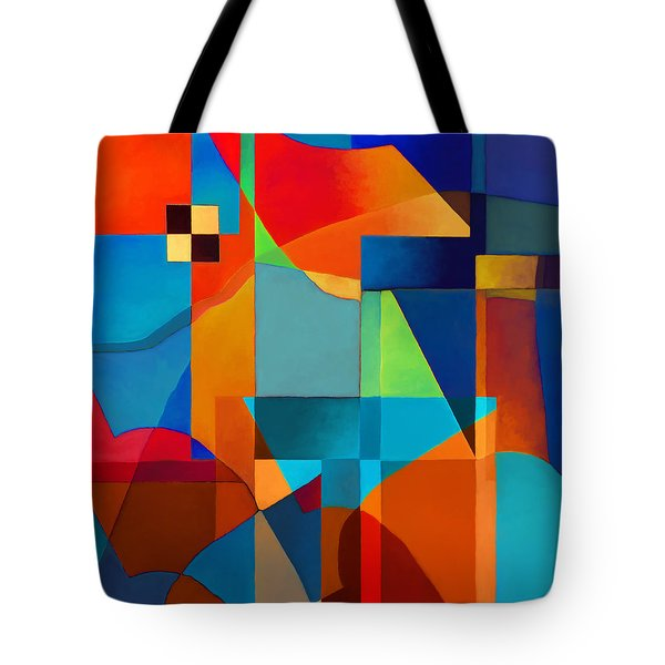 Edges Tote Bag