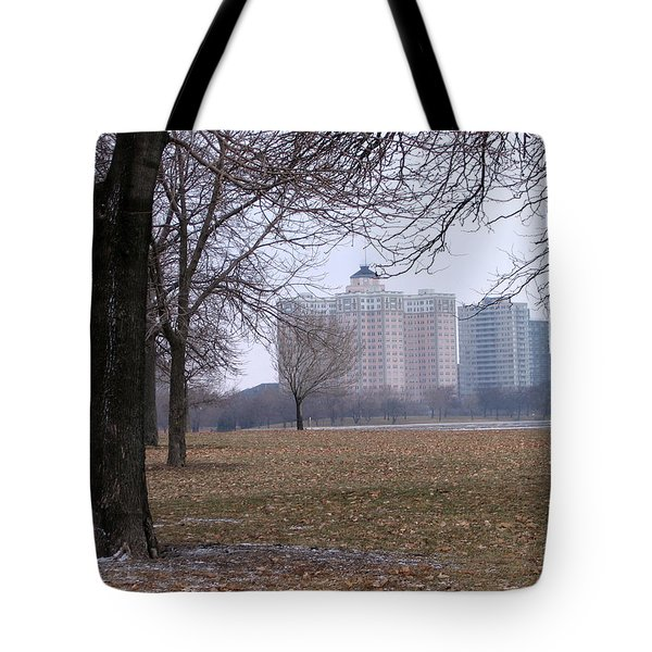 Edgewater Beach Apartments Tote Bag
