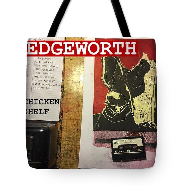 Edgeworth Chicken Shelf Cover Tote Bag