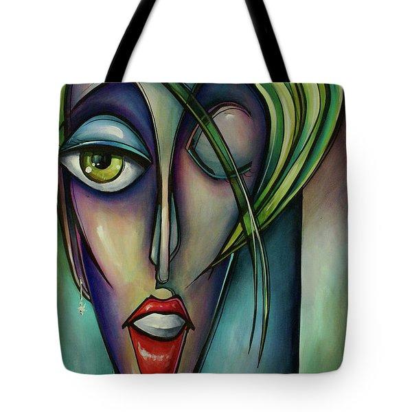 Edgey Tote Bag by Michael Lang