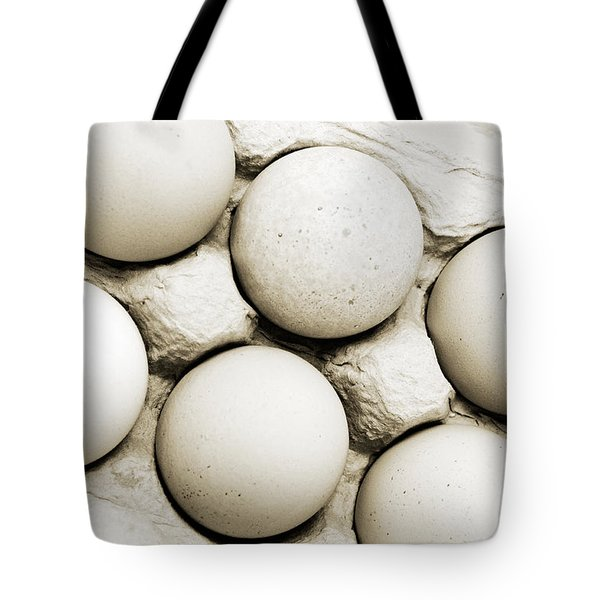 Edgy Farm Fresh Eggs Tote Bag