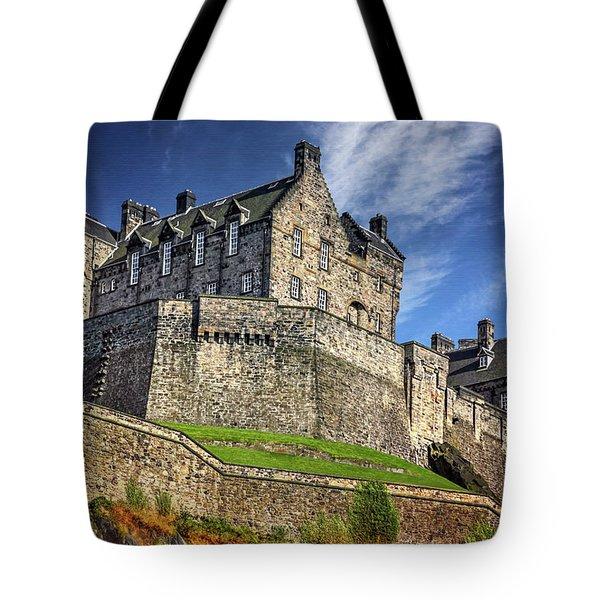 Edinburgh Castle Scotland  Tote Bag