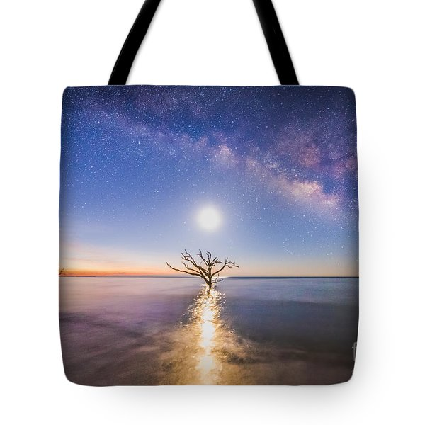 Edisto Island Milky Way Tote Bag by Robert Loe