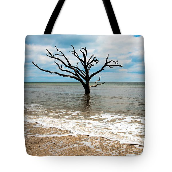 Edisto Island Tree Tote Bag