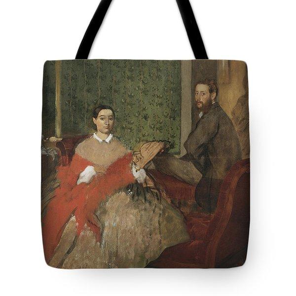 Edmondo And Therese Morbilli Tote Bag