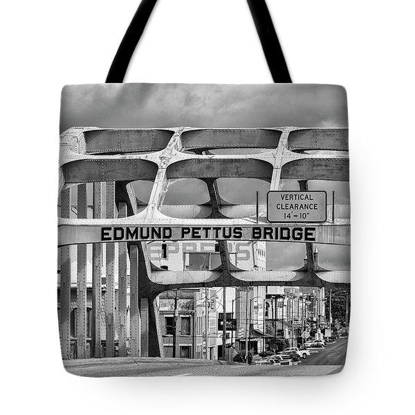 Edmund Pettus Bridge - Selma Tote Bag