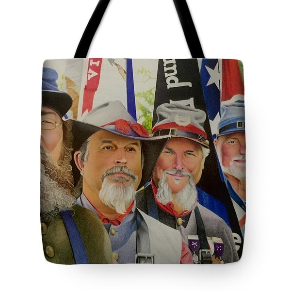 Edmund Ruffin Fire Eaters Color Guard 2016 Tote Bag