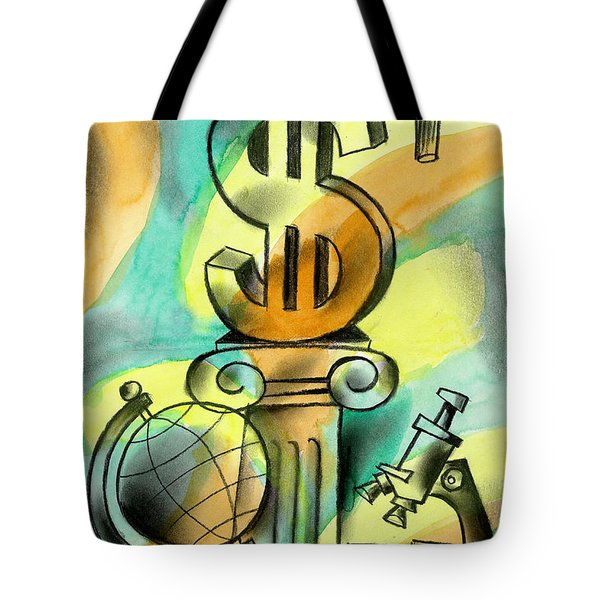 Education And Money Tote Bag