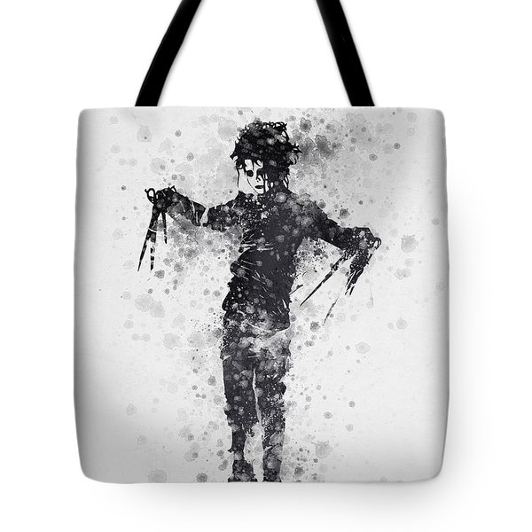 Edward Scissorhands 01 Tote Bag by Aged Pixel