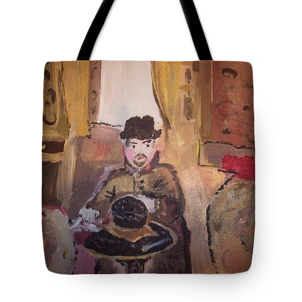 Edwardian Hats Tote Bag by Judith Desrosiers