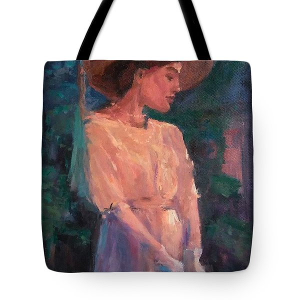 Edwardian Katie #1 Tote Bag by Brian Kardell