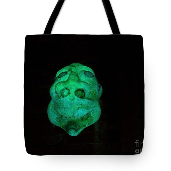 Eerie Apparition Tote Bag