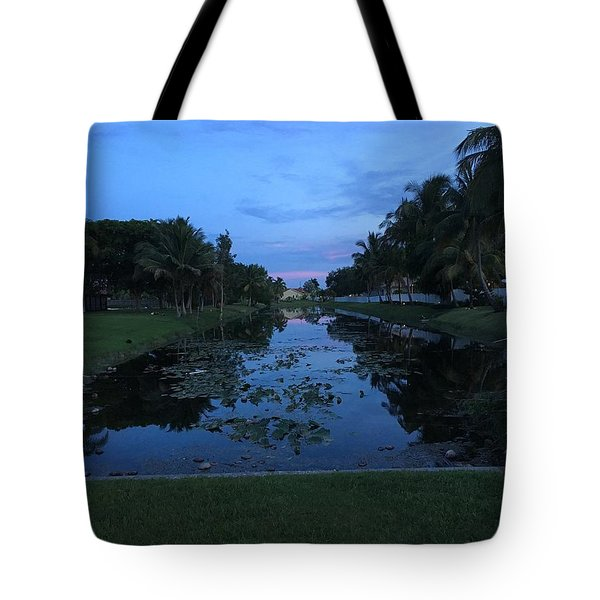 Eerie Canal Tote Bag