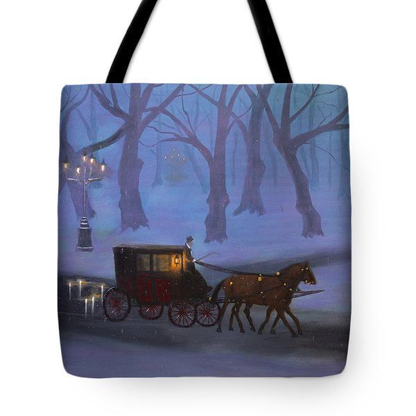Eerie Evening Tote Bag
