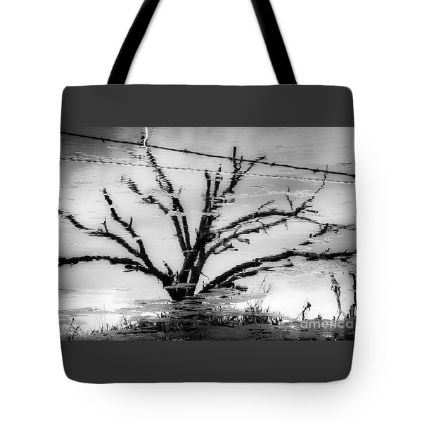 Eerie Reflections Tote Bag