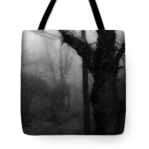 Eerie Stillness Tote Bag