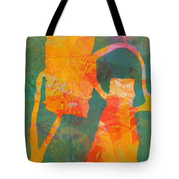 Eevy Ivy Over Tote Bag by Catherine Redmayne