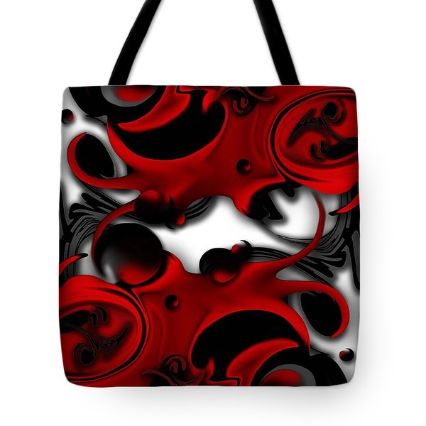 Effective Form Constructed Tote Bag