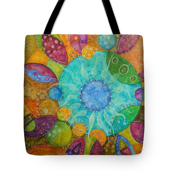 Effervescent Tote Bag by Tanielle Childers