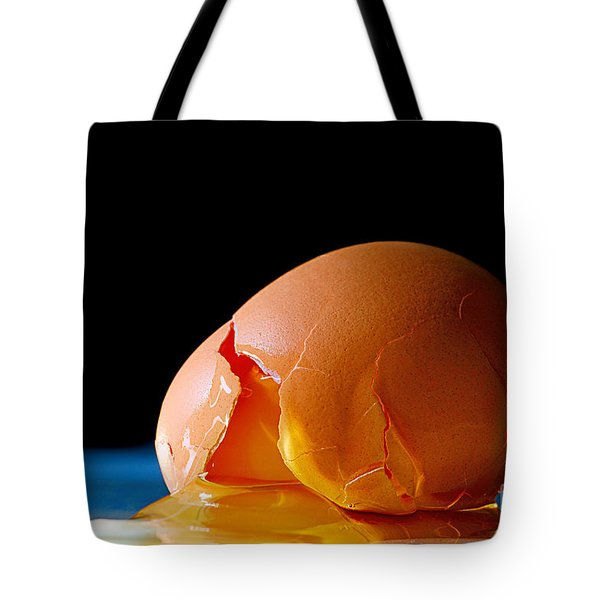Egg Cracked Tote Bag