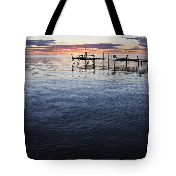 Egg Harbor Sunset Tote Bag