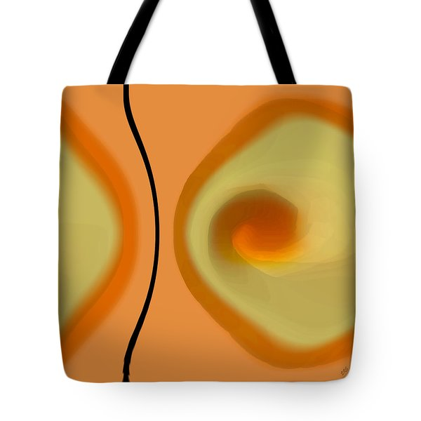 Egg On Broken Plate Tote Bag