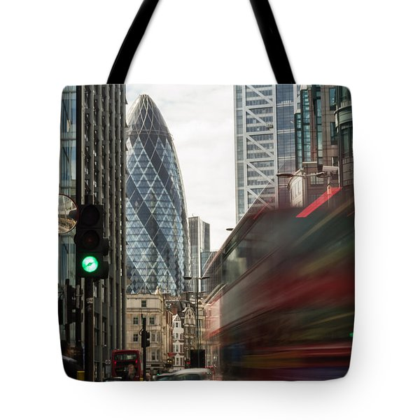 Egg Shaped Building A Tote Bag