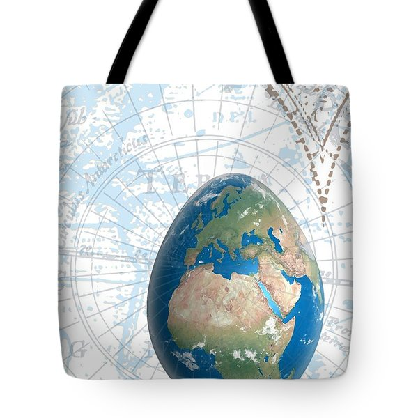 Egground The World Tote Bag