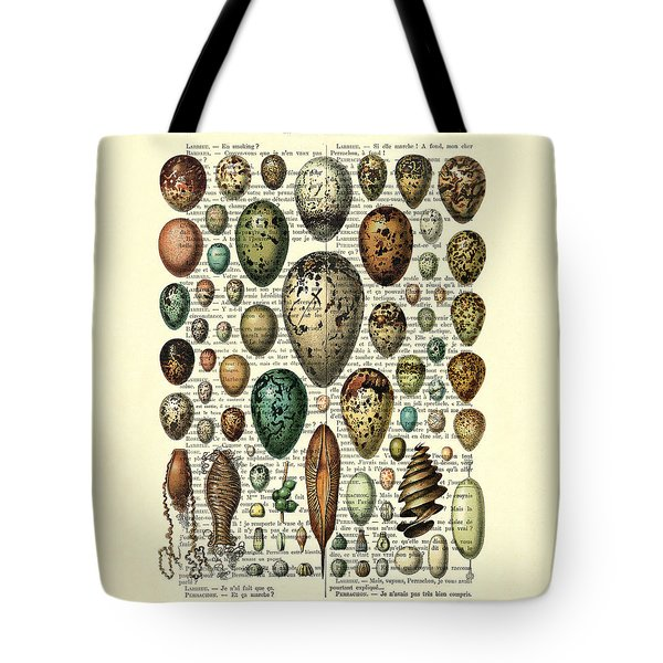 Eggs Collection Tote Bag