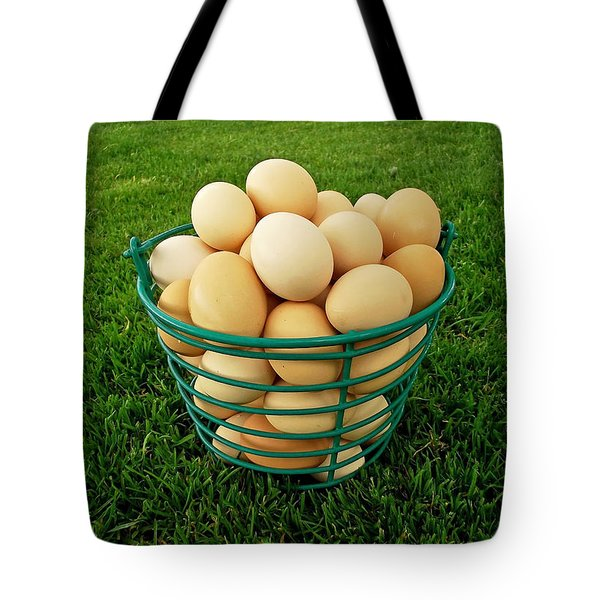 Eggs In A Basket Tote Bag