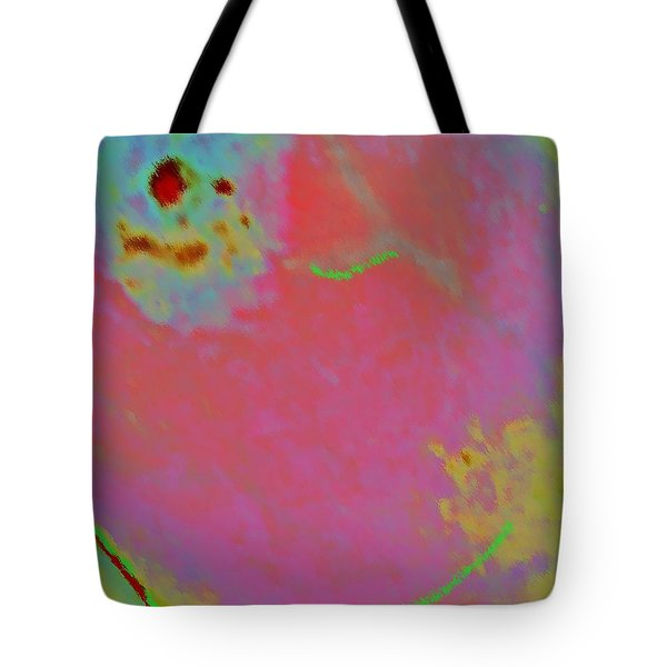 Eggs On Mars Tote Bag by Yshua The Painter