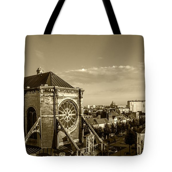 Tote Bag featuring the photograph Eglise De Saint Catherine by Pravine Chester
