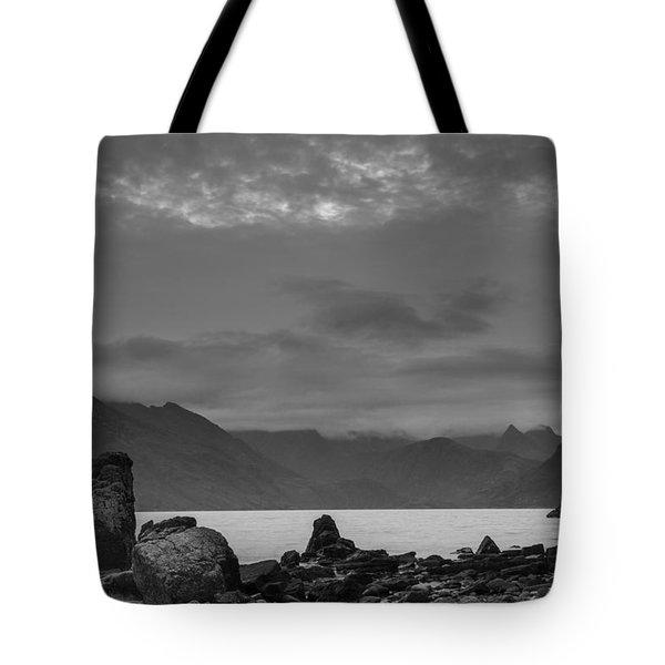 Egol Beach On The Isle Of Skye In Scotland Tote Bag