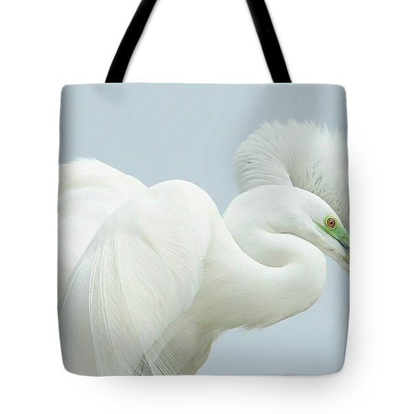 Egrets In Love 2 Tote Bag