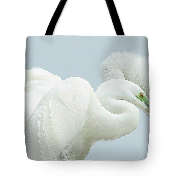 Egrets In Love 2 Tote Bag