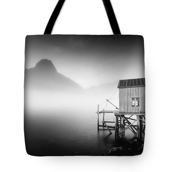 Egulfed By Mist Tote Bag