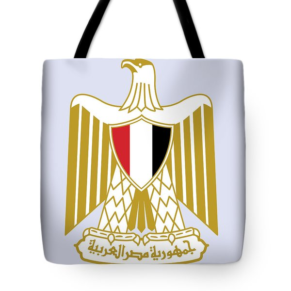 Tote Bag featuring the drawing Egypt Coat Of Arms by Movie Poster Prints