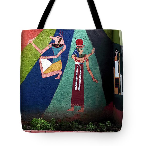 Egypt In Istanbul Tote Bag