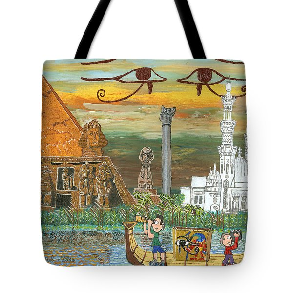 Egypt   Jan Tote Bag