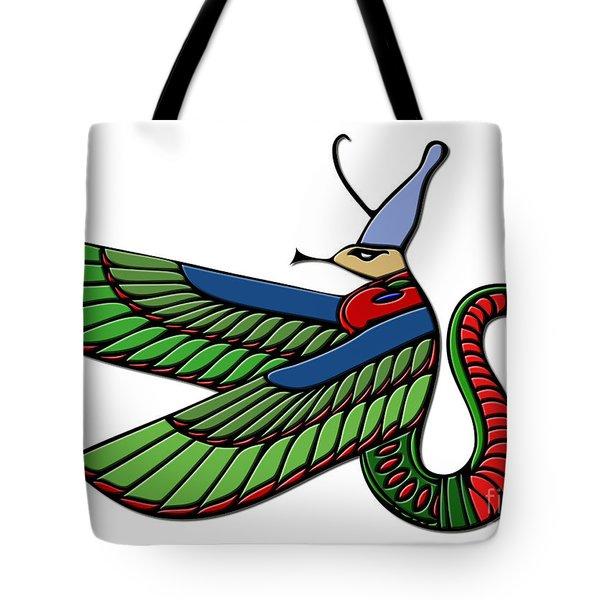 Egyptian Demon Tote Bag by Michal Boubin