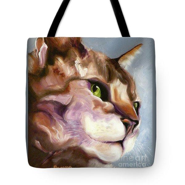 Egyptian Mau Princess Tote Bag
