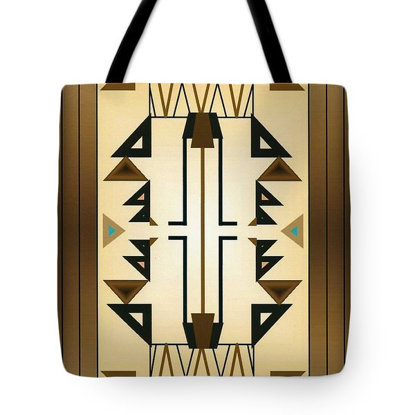 Egyptian Moderne Tote Bag by Tara Hutton