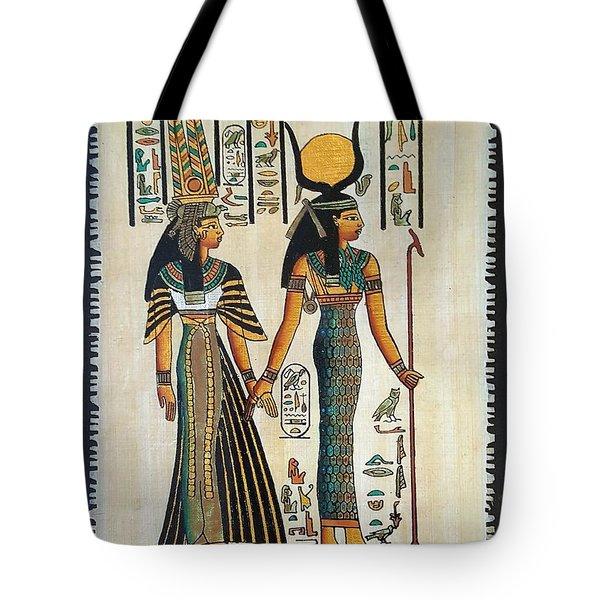 Egyptian Papyrus Tote Bag