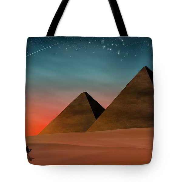 Egyptian Pyramids Tote Bag