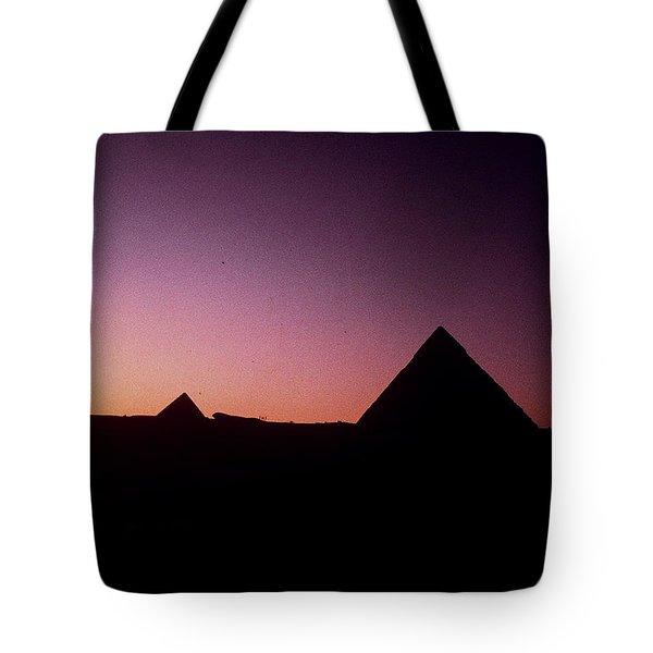 Egyptian Sunset Tote Bag