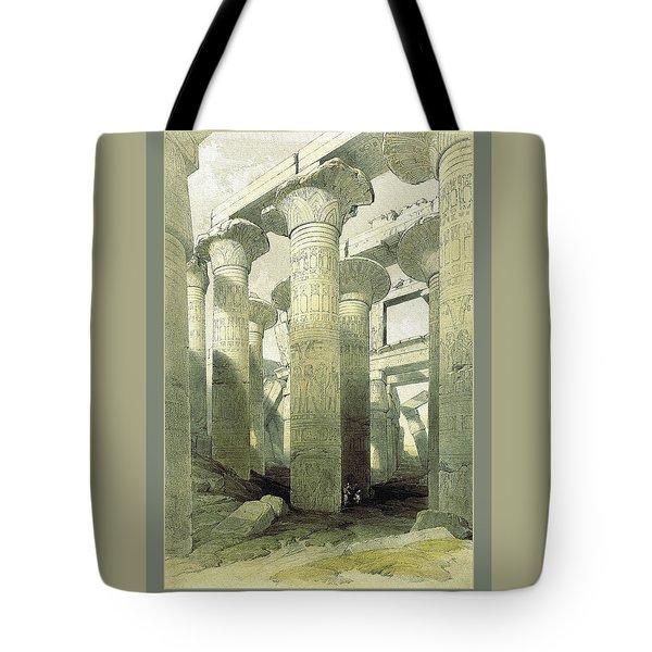 Egyptian Temple No 3 Tote Bag