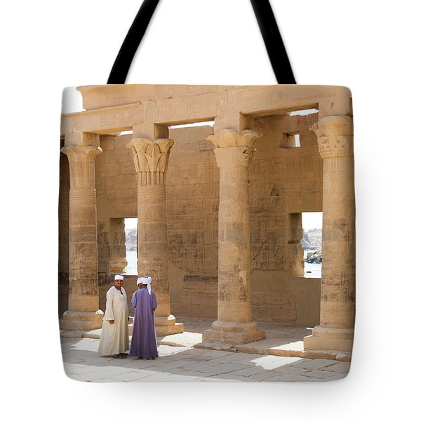 Egyptians Tote Bag by Silvia Bruno
